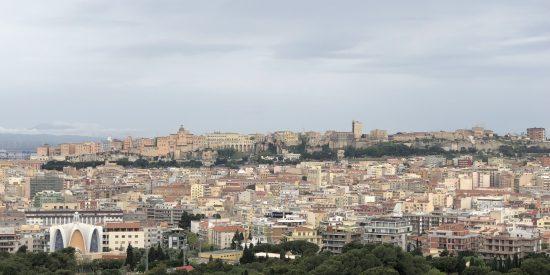 Panorámica de Cagliari