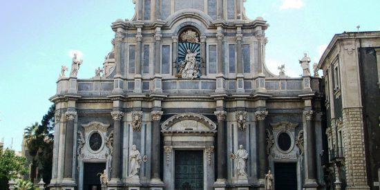 Catedral de Santa Agatha en Catania Italia