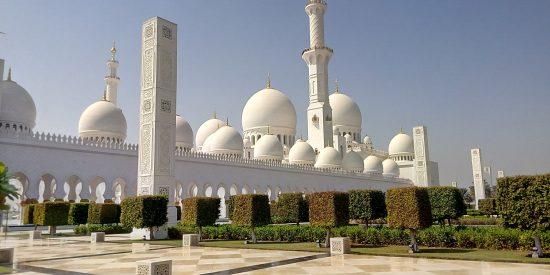 Cúpulas de la Mezquita de Abu Dhabi