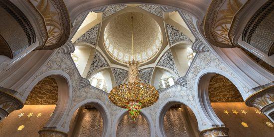 Visita a la Mezquita de Abu Dhabi