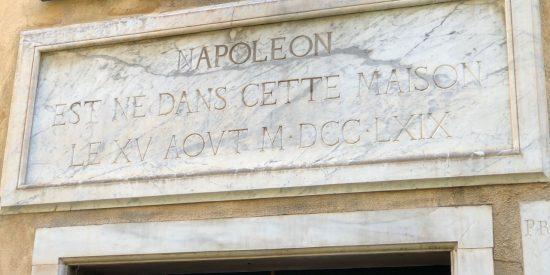 Casa de Napoleon en Ajaccio Córcega