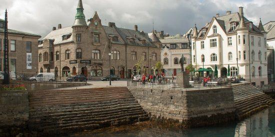 Art Noveau en Alesund Noruega