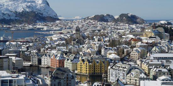 Visita Alesund en Noruega