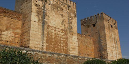 Exterior de la Alhambra Granada