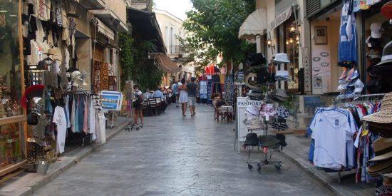 Calles de Atenas Grecia