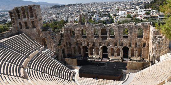 Odeón de Herodes Ático Atenas