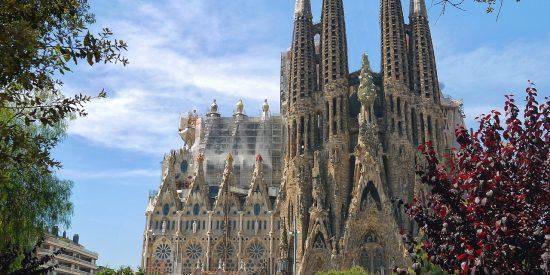 La Sagrada Familia Gaudi en Barcelona