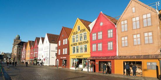 Excursión casas de madera en Bergen