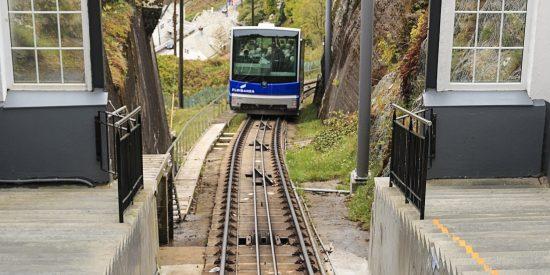 Transporte en Bergen Noruega