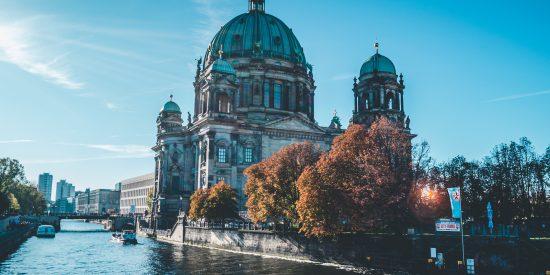 Preciosa imagen de la Catedral de Berlin