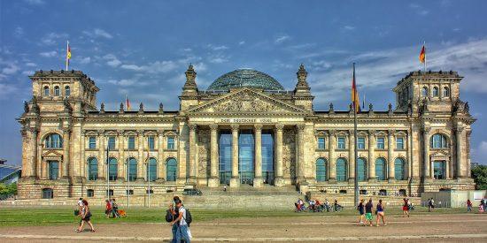 El edificio del Reichstag Berlin