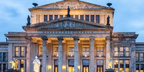 Konzerthaus en plaza de Berlin