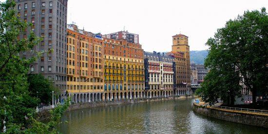 La ria en Bilbao