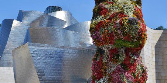 Puppy Perro Guggenheim Bilbao