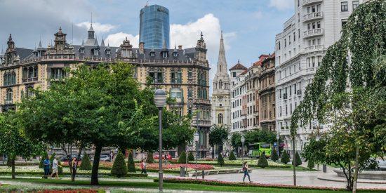 Jardines de Bilbao