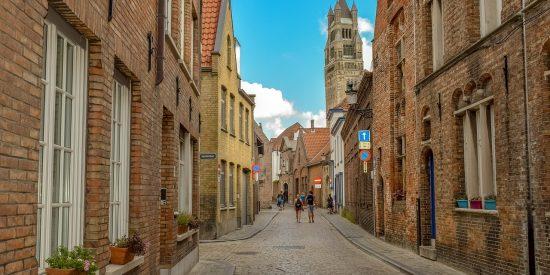 Las calles de Brujas