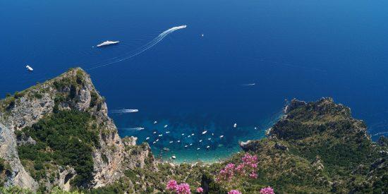 Isla de Capri Napoles