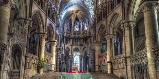 Interior Catedral Canterbury