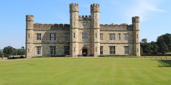 El Castillo de Leeds en Inglaterra