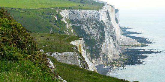 Los famosos acantilados de Dover