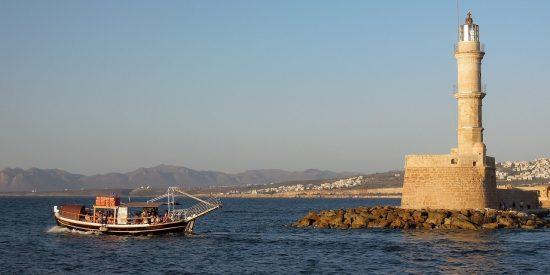 Puerto de Chania Creta