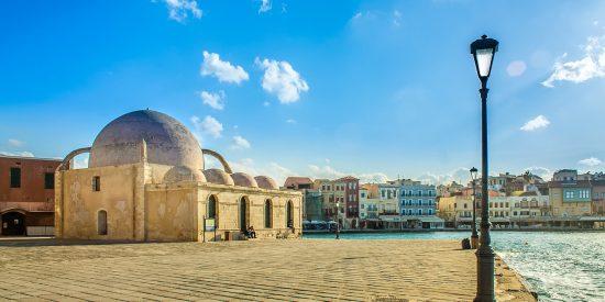 Mezquita de los Jenízaros Chania Creta