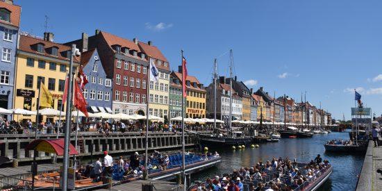 Visita guiada por los canales de Copenhague