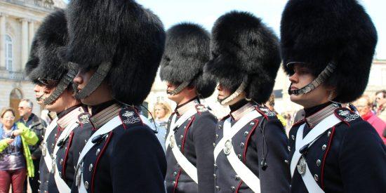La guardia en Copenhague