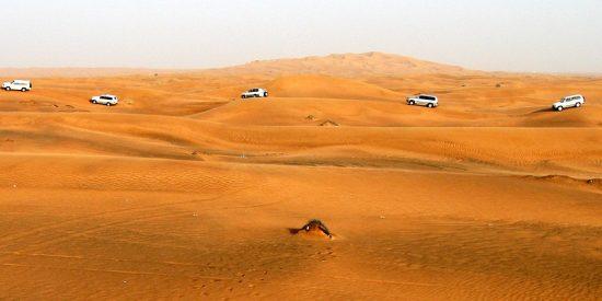 Excursión en 4x4 por el desierto en Dubai