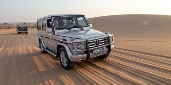 4x4 por el desierto en Dubai