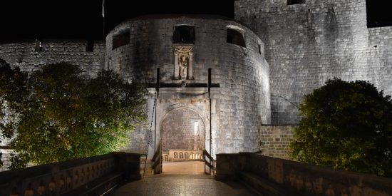 La puerta de Pile Dubrovnik