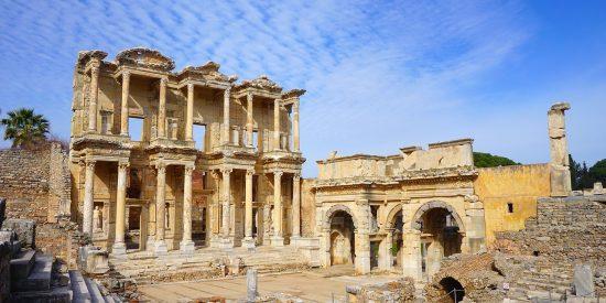 Excursión a la biblioteca de Celso Efeso