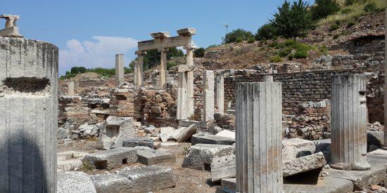 Visitar ruinas de la ciudad de Éfeso
