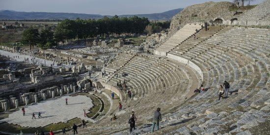 Visitar ruinas de la antigua ciudad de Éfeso