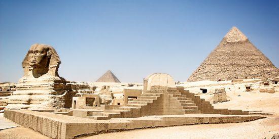 Esfinge y las Pirámides en Egipto Excursión