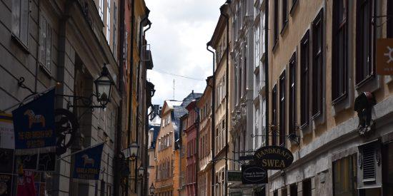 Visita por las calles de Estocolmo