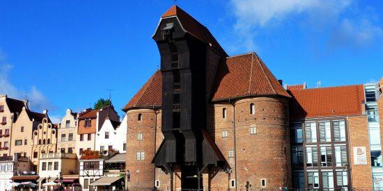 La grua medieval más grande del mundo Gdansk