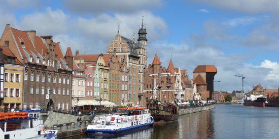 Excursión para crucero en Oliwa Gdansk - Grua Medieval
