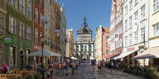 Excursión por la calle larga Oliwa Gdansk