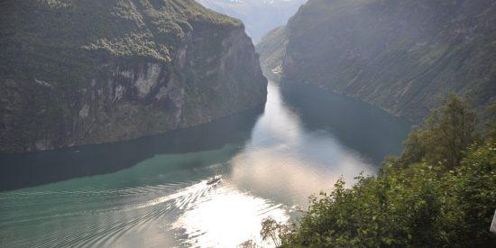 Espectacular vista del Fiordo Nordfjord