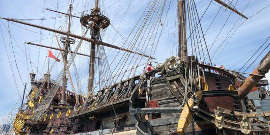 El galeón Neptuno Genova