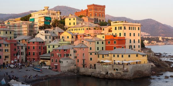 Paseo por el centro histórico de Genova