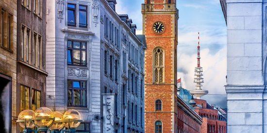Visita por las calles de Hamburgo