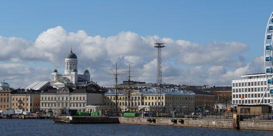 Panorámica de Helsinki Finlandia
