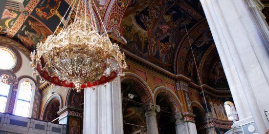 Interior Catedral Ortodoxa Heraklion