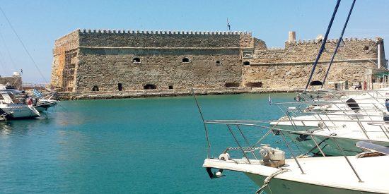 La fortaleza veneciana de Koules Grecia