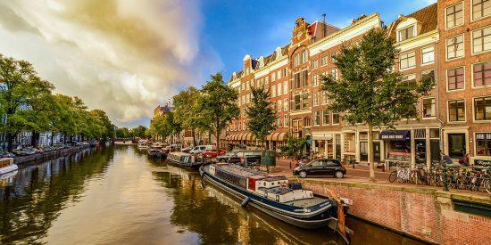 Paseo en Barco por los canales Amsterdam
