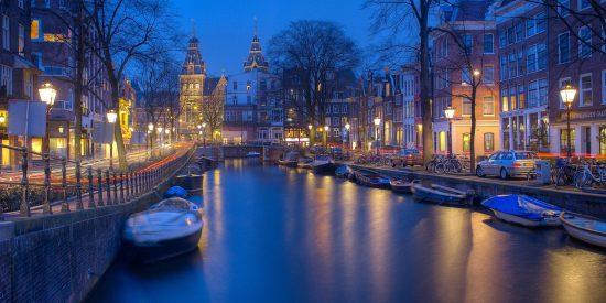 Amsterdam de noche