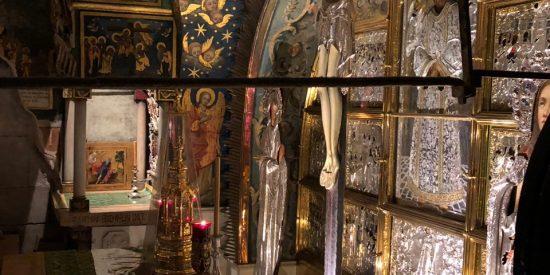 Interior La Basílica de la Natividad Jerusalen