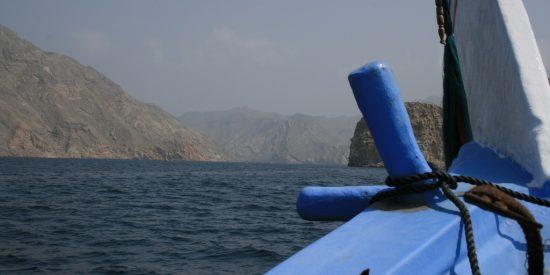 Paseo en Dhow por el fiordo de Khasab